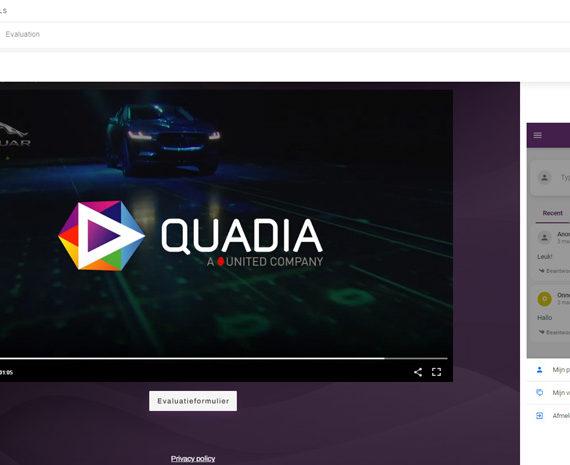 Nieuwe live-tooling bij Quadia